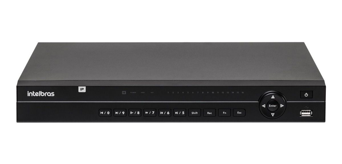 Nvr Gravador Vídeo 4 Canais Nvd 1232 Intelbras HD12TB Purple