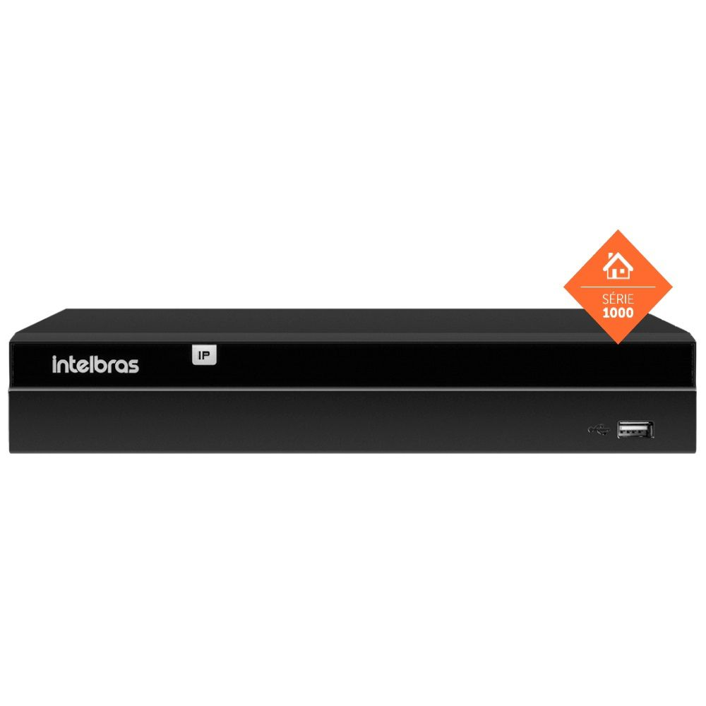 Nvr Gravador Vídeo 16 Canais Nvd 1316 Intelbras HD 8TB Purple