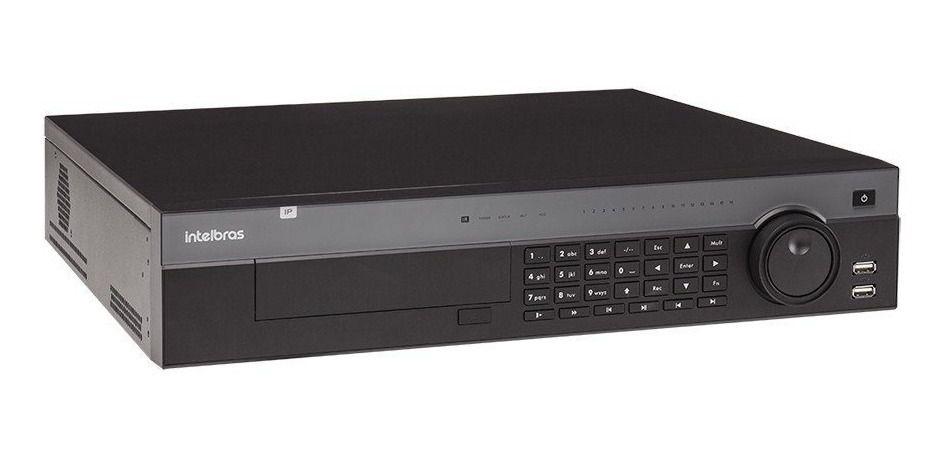 NVR HVR Stand Intelbras NVD 7132 32 Canais HD 12 TB Purple