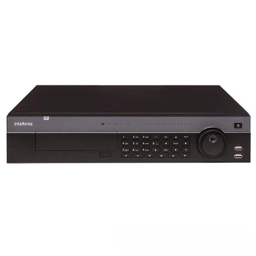 NVR HVR Stand Intelbras NVD 7132 32 Canais HD 10 TB Purple