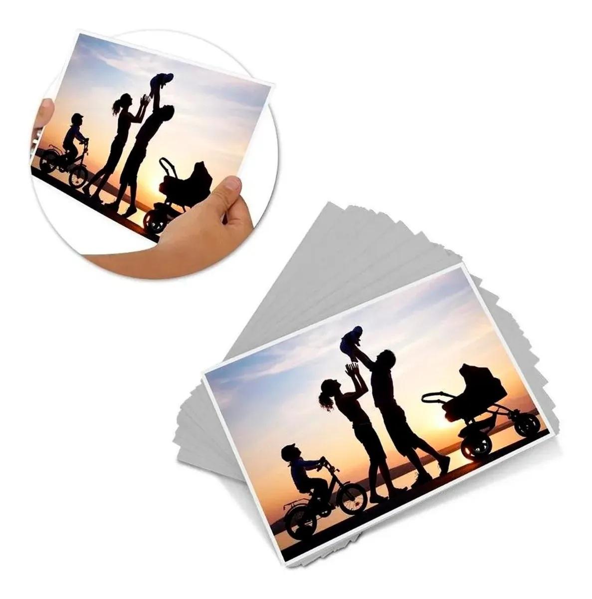 Papel Fotográfico 3d Efeito Holográfico A4 180g C/20 Folhas