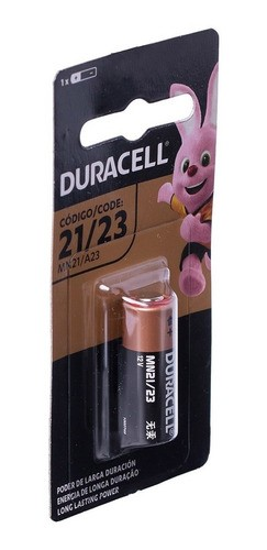 Pilha 12V Duracell Mn21a23 Alcalina Alarme Controle Kit C/24 un