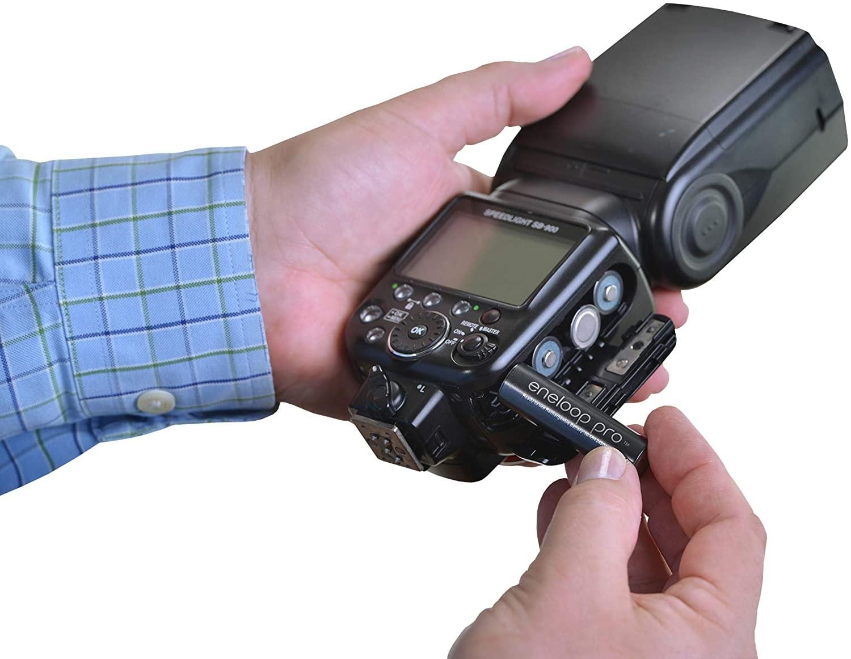 Pilha Aa Eneloop Pro Panasonic Recarregável C/6 Unid