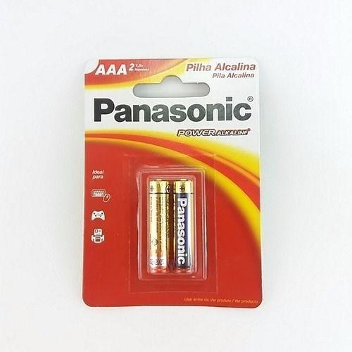 Pilha AA Alcalina Panasonic Pequena 96 Un Revenda Atacado