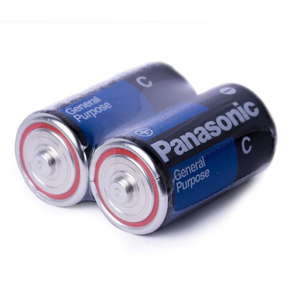 Pilha C Media Comum Panasonic C/24 Unidades Super Hyper