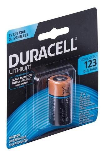 6 Pilha De Lítio Cr123 Duracell 3v Dl123 Atacado Orig