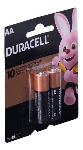Pilha AA Duracell Alcalina 24 Pilhas 12 Cartelas C/2 Un