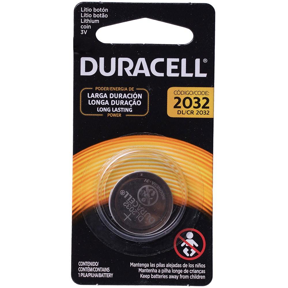Pilha Duracell Cr2032 3v Lítio Bateria Moeda