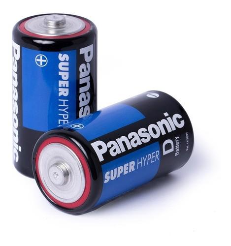 Pilha Grande D Panasonic 3 C/20 Un Rádio Brinquedo Atacado