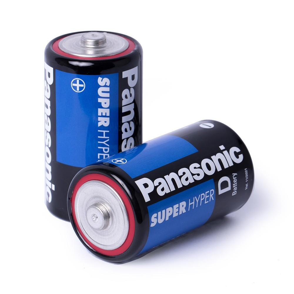 Pilha Grande D Panasonic Cartela 2 Unidades Rádio Brinquedos