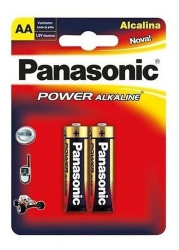 Pilha AA Panasonic Alcalina Pequena 10 Unidades Original Top
