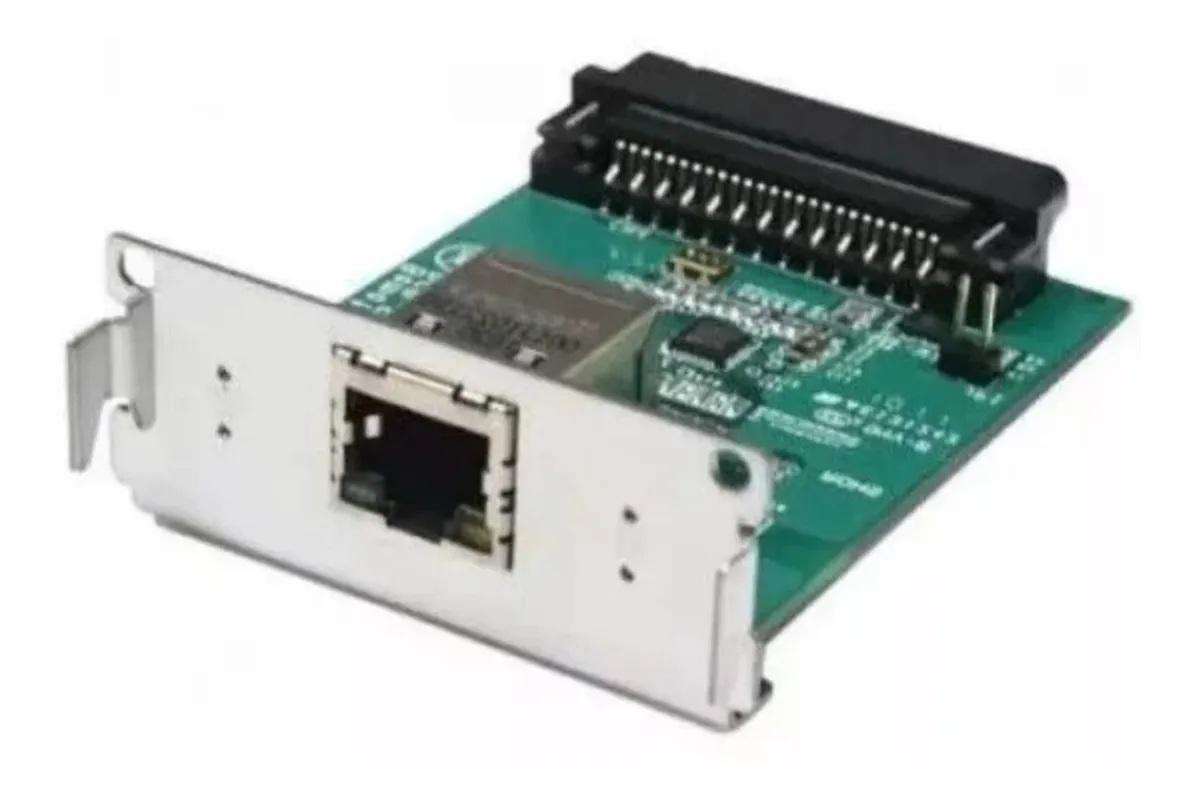 Placa De Rede Interface Ethernet Impressora Bematech Mp 4200