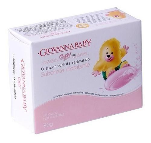 Sabonete Infantil Giovanna Baby Giby Rosa 80g Sem Corante