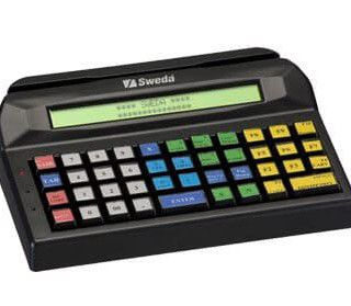 Teclado Programável PDV Sweda 44 Teclas PS2