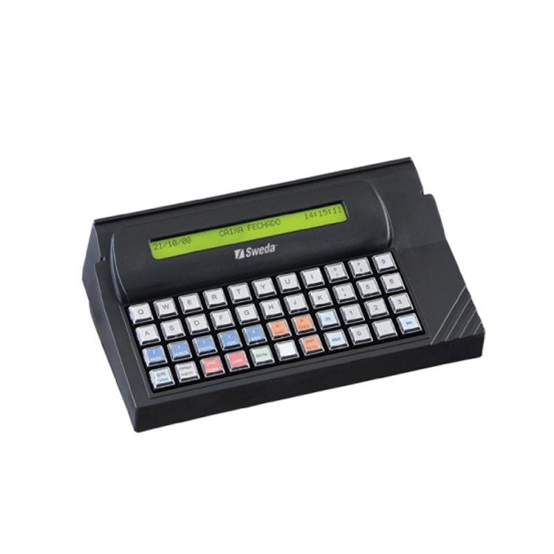 Teclado Programável PDV Sweda 44 Teclas USB Preto