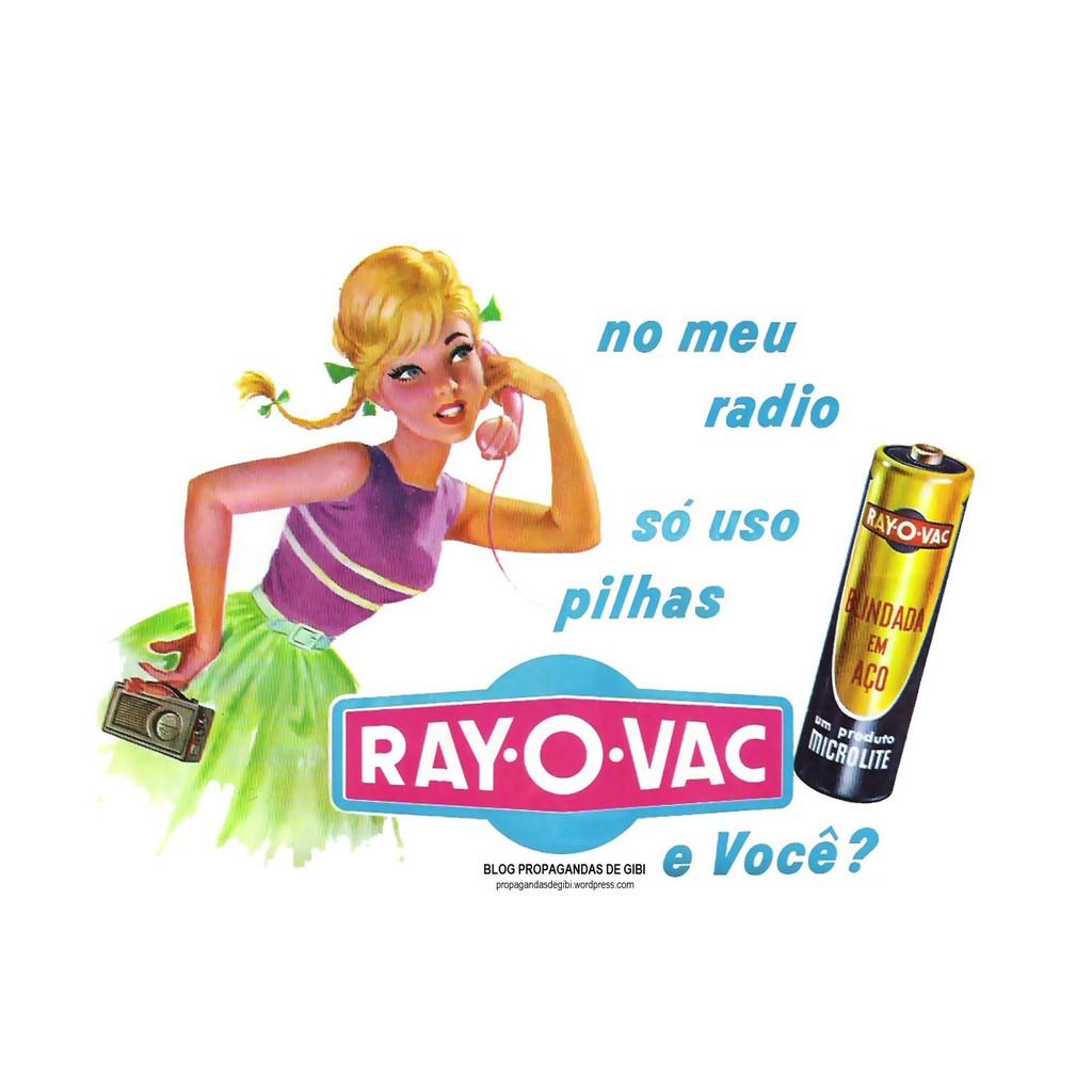 Tubo 48 Pilha AA Comum Rayovac Amarelinhas