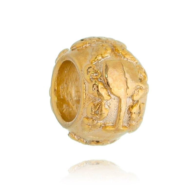 Charm Taça da Sorte Revestido em Ouro