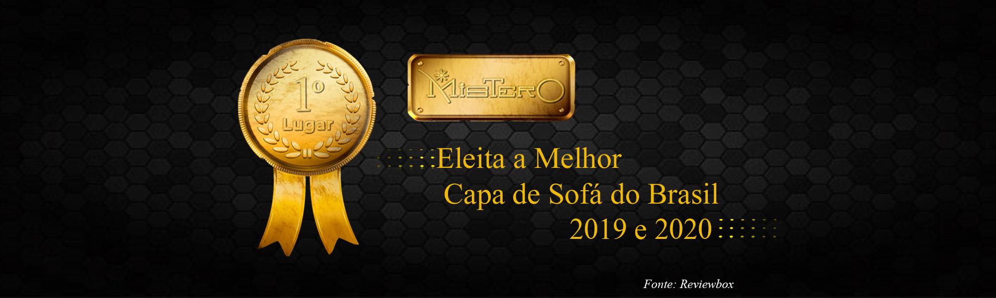 Eleita a Melhor Capa de Sofá do Brasil