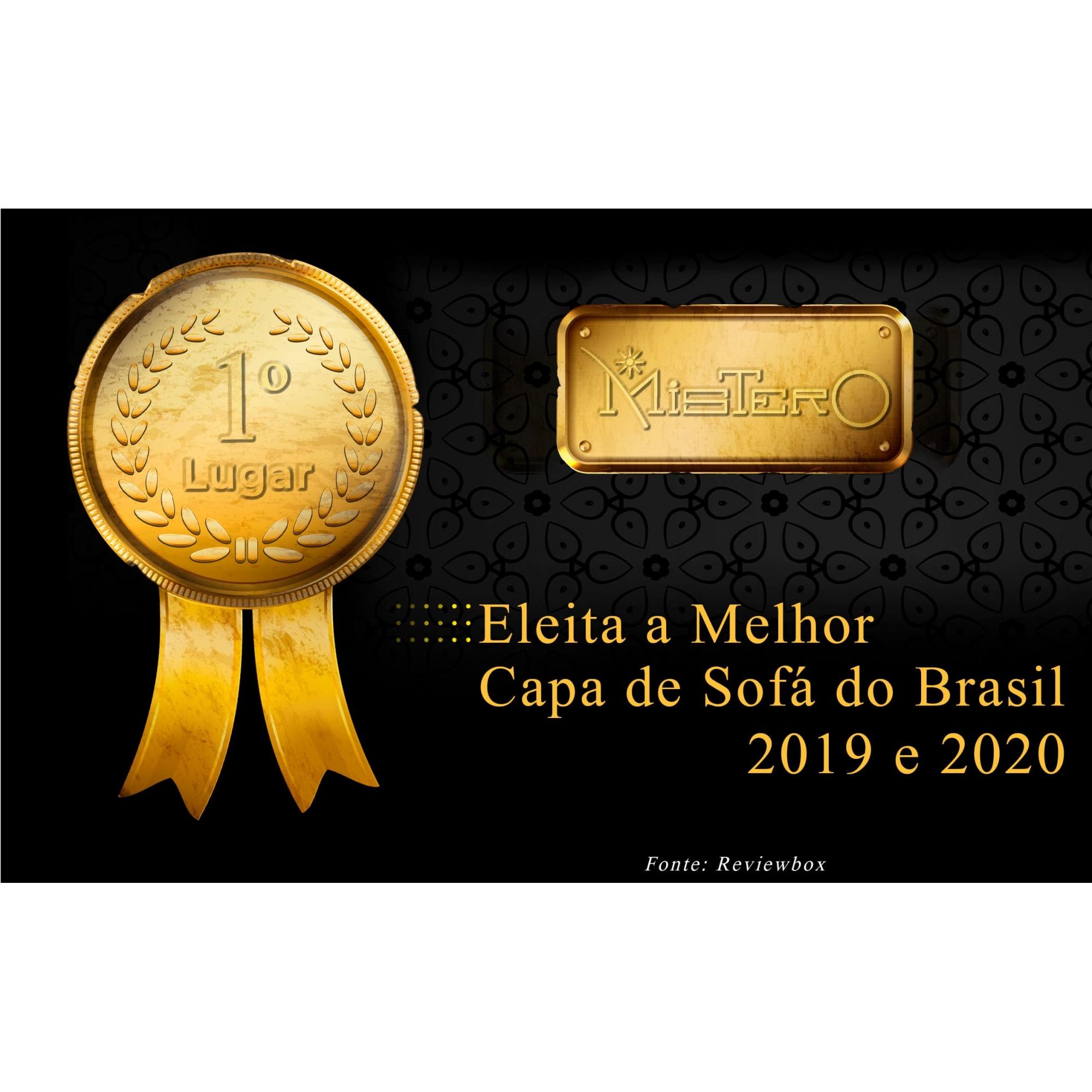 Capa p/ Sofá de 2 Lug GRAFITE em Piquet