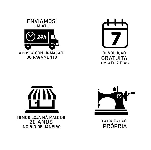 Capa p/ Sofá de 6 Lug MARROM em Gorgurão
