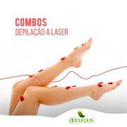 Depilação a Laser Pernas Completas - 6 sessões