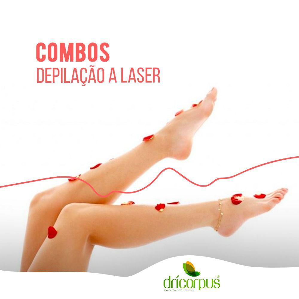 Depilação a Laser Meia Perna - 6 sessões