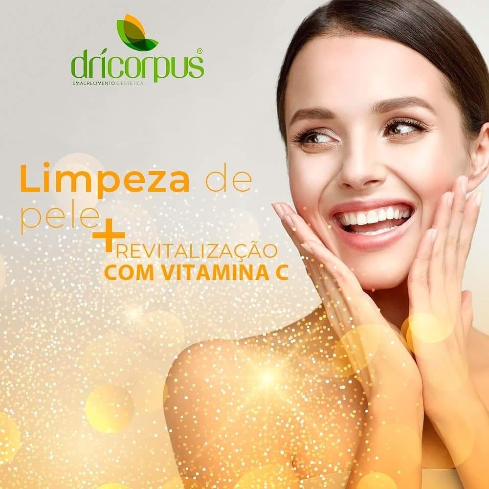 Limpeza de Pele + Peeling de Diamante + Revitalização Facial