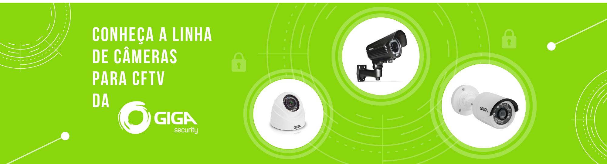 câmeras de segurança com infravermelho hd marca giga