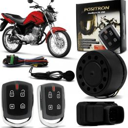 Alarme para Motos Universal Positron Duoblock Px G8 350 Com Presença