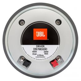 Alto Falante JBL Drive D350 Pancadão - Prateado 8 ohms 150WRMS