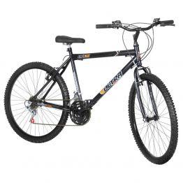 Bicicleta Aro 26 18 Marchas Ultra Bikes Preta