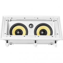 Caixa de Som Ambiente JBL CI55RA Arandela Branca Retângular Angulada (2 5 + 1 tweeter) 100WRMS
