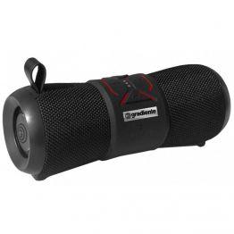 Caixa de som portátil Aqua GSP-100 Preto Gradiente À prova d'água 20w Rms Bluetooth Bivolt