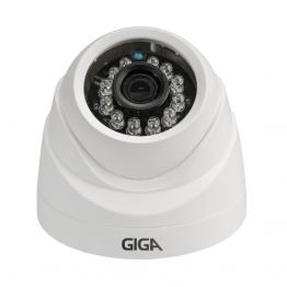 Câmera de segurança Dome Plástica 1080P GIGA Open HD Plus Sony Exmor Infravermelho 20m - GS0026