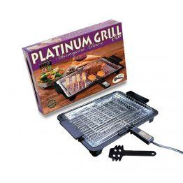 Churrasqueira Eletrica Anurb Platinum Grill Plus 220V Preto