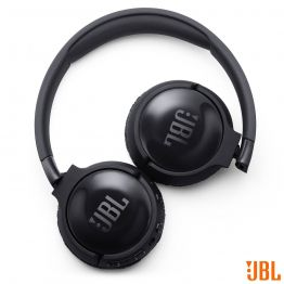 Fone de Ouvido Bluetooth JBL c/ Cancelamento de Ruido Tune 600 Preto - JBLT600BTNCBLK