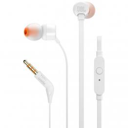 Fone de Ouvido JBL  In Ear Intra-Auricular Branco - JBLT110WHT