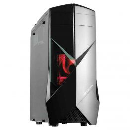 Gabinete Gamer sem fonte Preto Mid Tower USB 3.0 C3Tech - MT-G300BK