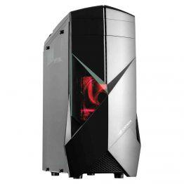 Gabinete Gamer sem fonte Preto Mid Tower USB 3.0 C3Tech - MT-G300BK