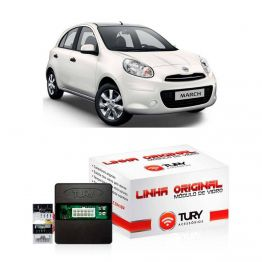 Modulo de Vidro Tury Nissan March/Versa LVX8BB com Anti-esmagamento - Apenas Dianteiro