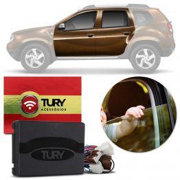 Modulo de Vidro Tury Renault Duster / Oroch com Anti-esmagamento PRO2.10CR Apenas Dianteiro