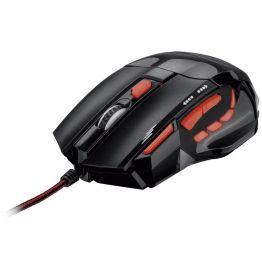 Mouse Gamer 2400DPI QuickFire Button vermelho Multilaser - MO236