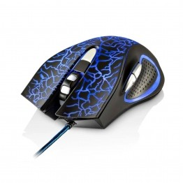 Mouse Gamer 3200DPI 6 Botões com LED Multilaser - MO250