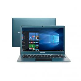 "Notebook Legacy Air Intel Celeron 13.3"" Azul Multilaser - PC224"