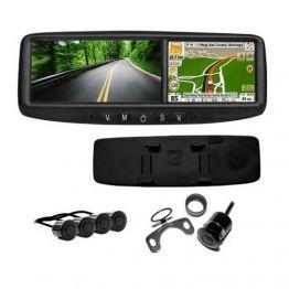 Sensor de estacionamento Orbe GPS/Cam. 4 sensores Preto