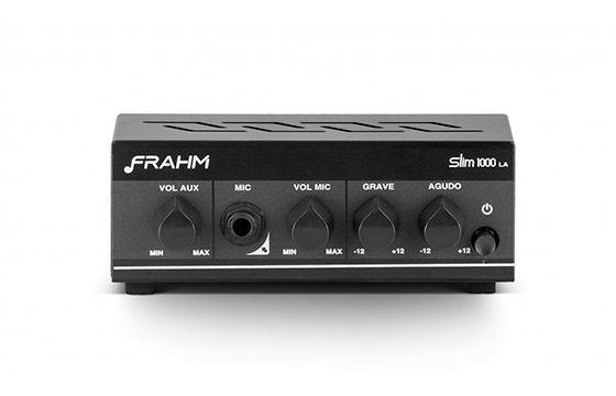 Amplificador Som Ambiente Frahm Receiver Slim 1000 LA G2 31842