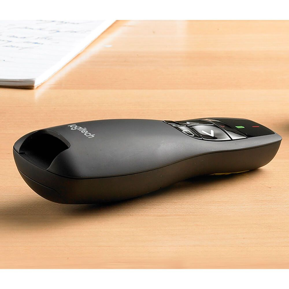 Apresentador Logitech Wireless Presenter R400 com Laser Point