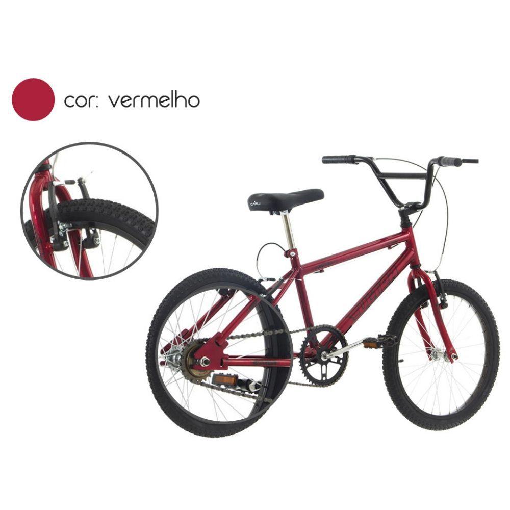 Bicicleta Aro 20 Ultra Bikes Vermelha BM20-01VM
