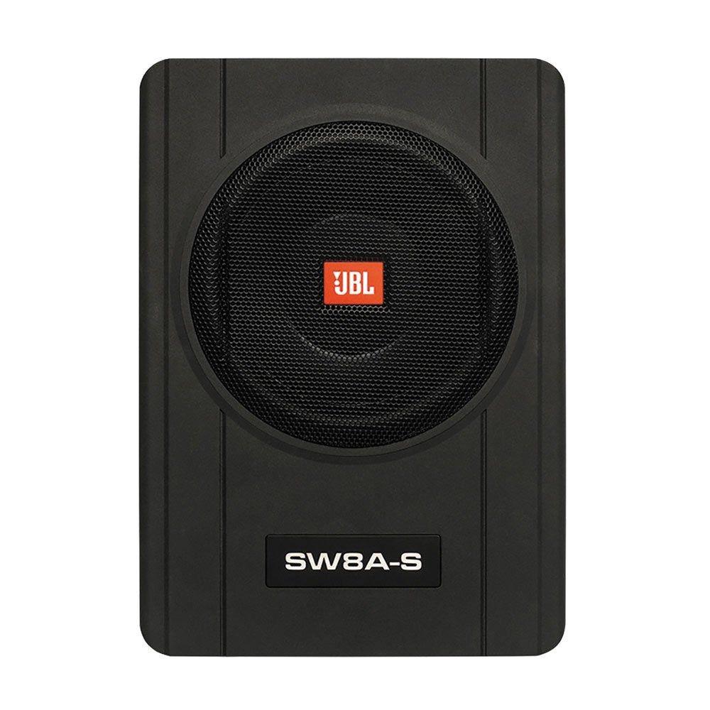 Caixa Amplificada Ativa Subwoofer Slim JBL SW8A-S 8 polegadas 150W RMS