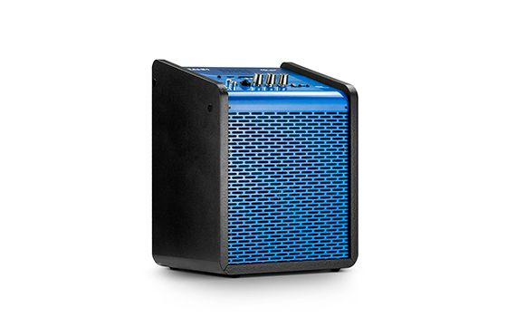 Caixa de Som Amplificada Frahm Chroma Battery Blue 100 WRMS USB Bluetooth - Azul